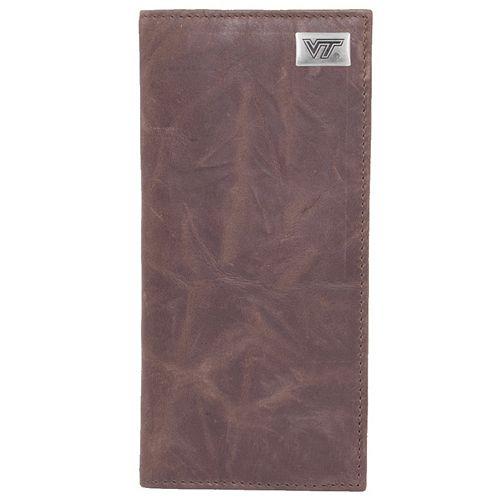 Virginia Tech Hokies Leather Secretary Wallet