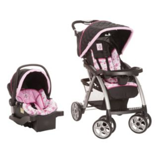 Disney Mickey Mouse & Friends Minnie Mouse Saunter Luxe Travel System by Safety 1st