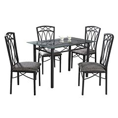 5-pc. Dining Table & Chairs Set