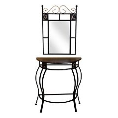 2-pc. Console Table & Mirror Set