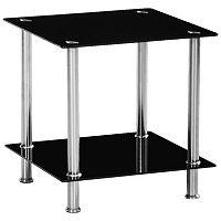 Glass Top Rectangular Table