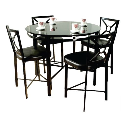 5-pc. Counter-Height Dining Table and Chairs Set