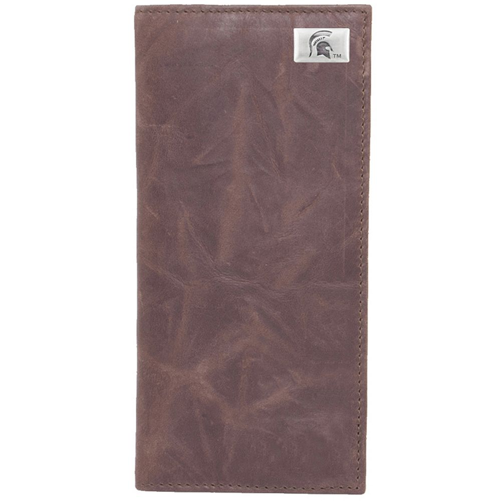 Michigan State Spartans Leather Secretary Wallet