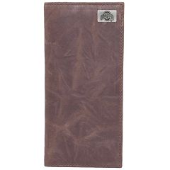 Ohio State Buckeyes Leather Secretary Wallet
