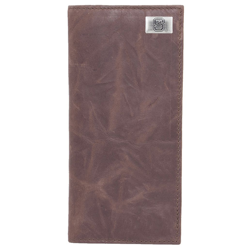 North Carolina State Wolfpack Leather Secretary Wallet