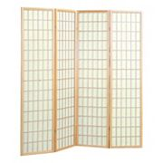 4-Panel Screen Room Divider