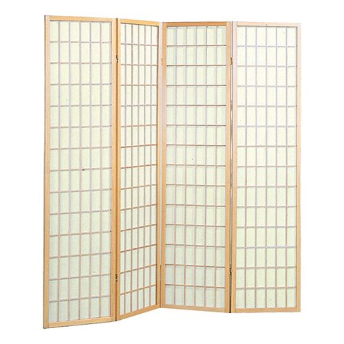4-Panel Screen Room Divider