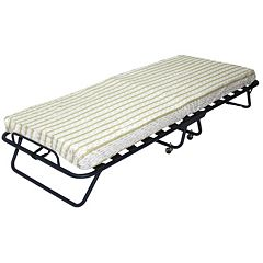 Folding Bed with 4-in. Thick Mattress - Twin