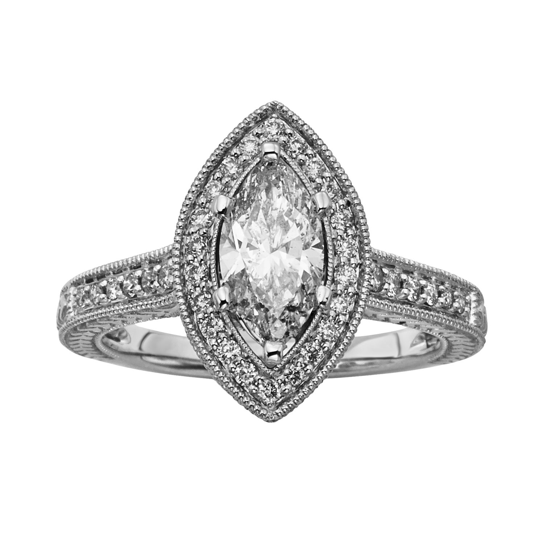 Wedding Rings Marquise Cut 97 Good Marquise Cut IGL Certified