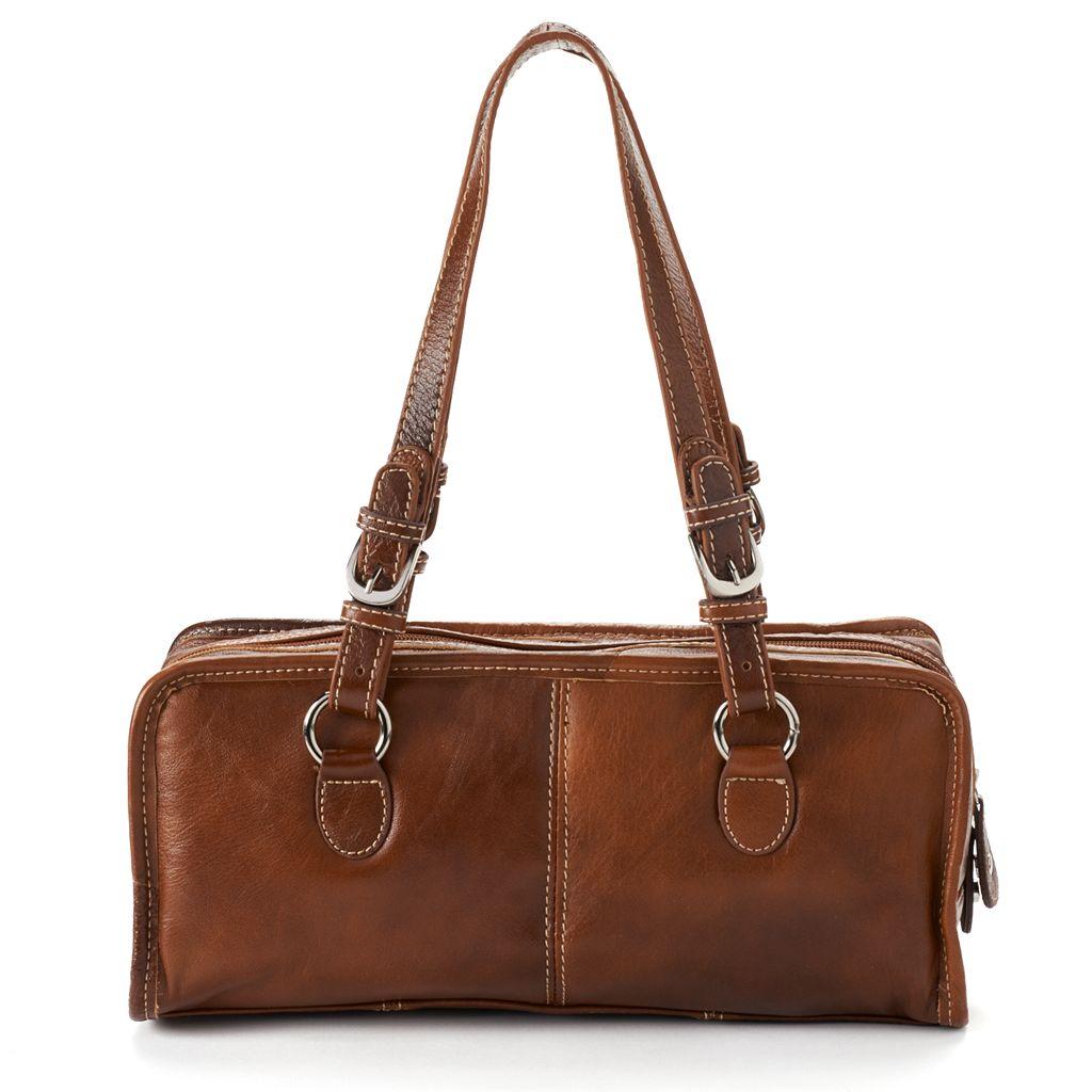 AmeriLeather Classy Leather Satchel