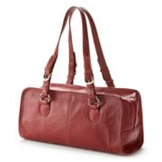 AmeriLeather Classy Leather Satchel