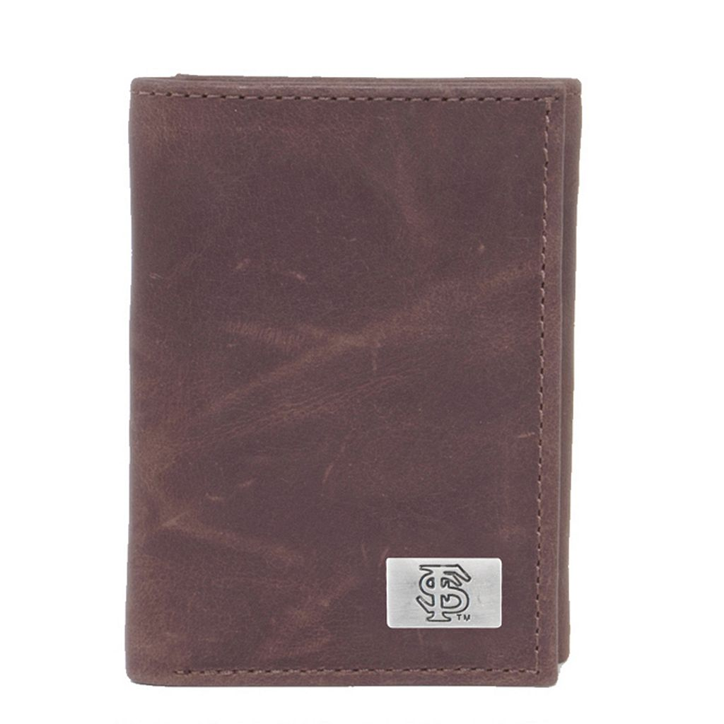 Florida State Seminoles Leather Trifold Wallet