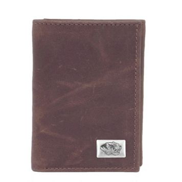 Missouri Tigers Leather Trifold Wallet
