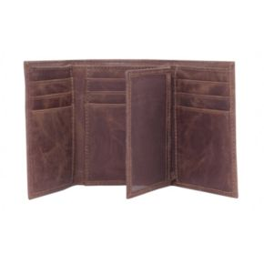 Texas A and M Aggies Leather Trifold Wallet