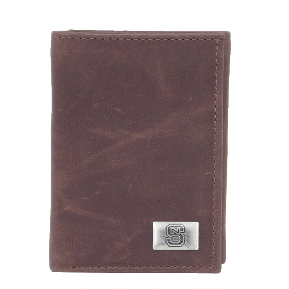 North Carolina State Wolfpack Leather Trifold Wallet