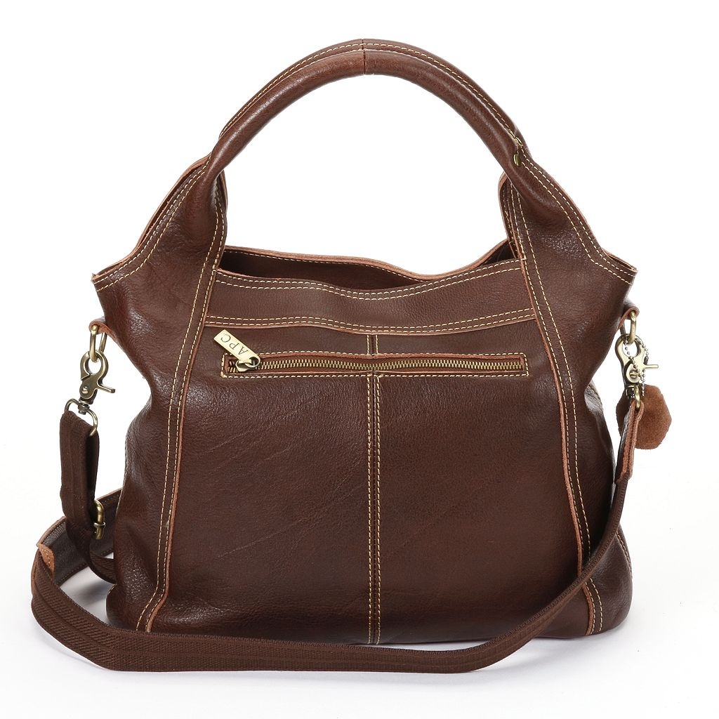 AmeriLeather Elizabeth Leather Convertible Tote