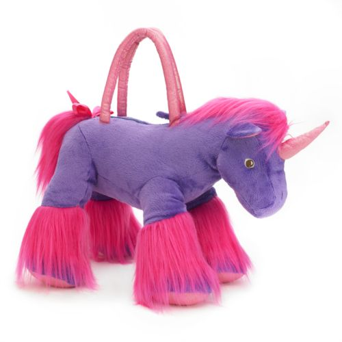 Olly & Friends Plush Unicorn Handbag - Girls