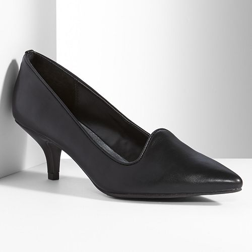 Simply Vera Vera Wang Tuxedo Heels - Women