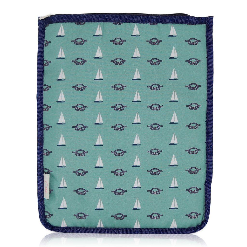 BlueAvocado XO(eco) Green Nautical iPad Pouch by Lauren Conrad