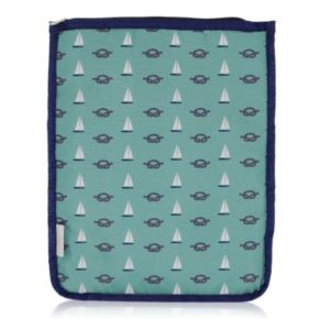 BlueAvocado XO(eco) Green Nautical iPad Pouch by Lauren Conrad