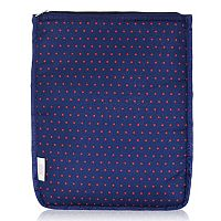 BlueAvocado XO(eco) Red Micro Dot iPad Pouch by Lauren Conrad