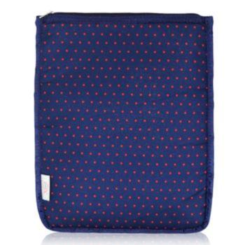 BlueAvocado XO(eco) Red Micro Dot iPad Pouch by Lauren Conrad