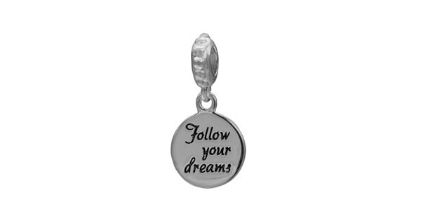 Individuality Beads Sterling Silver Follow Your Dreams Charm