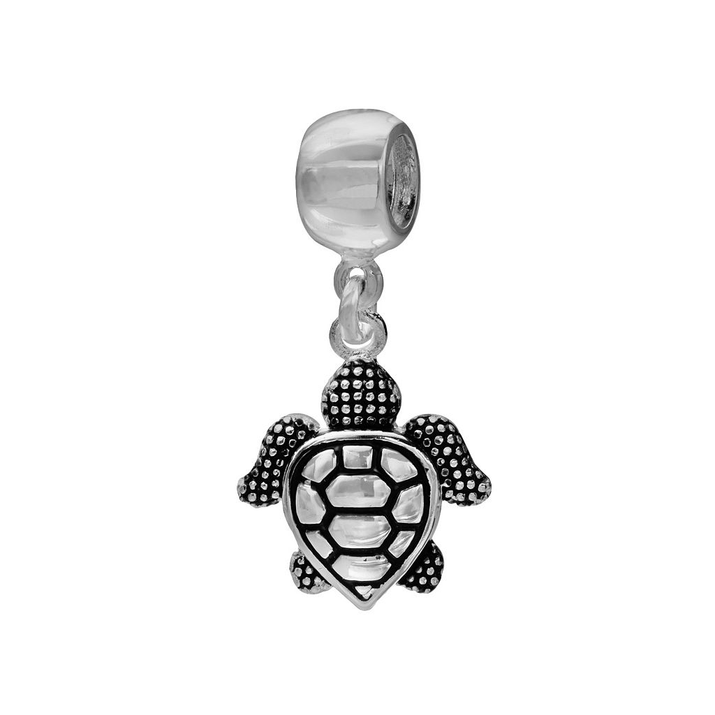 Individuality Beads Sterling Silver Turtle Charm