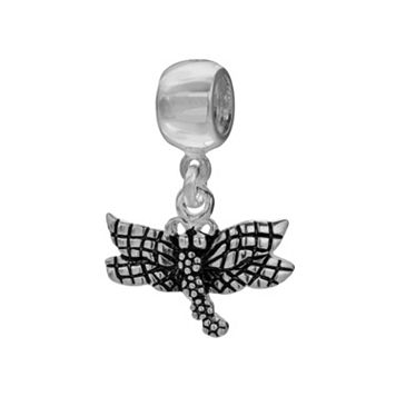 Individuality Beads Sterling Silver Dragonfly Charm