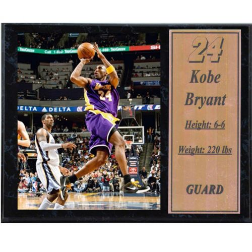 Los Angeles Lakers Kobe Bryant Stat Plaque