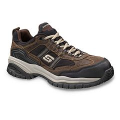 Skechers Grinnel Relaxed Fit Men's Work Shoes