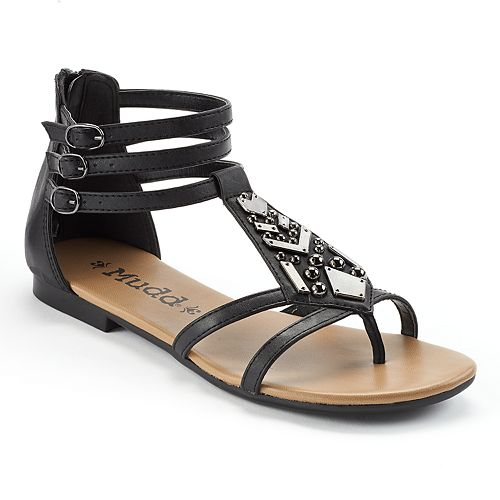 6c30ba929b1 Mudd® Embellished Gladiator Sandals - Women