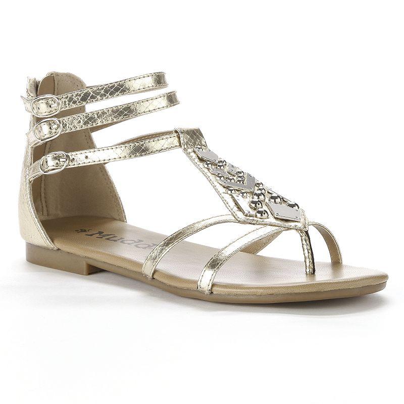 575d3237a7e Mudd Embellished Gladiator Sandals ~ Knee High Sandals