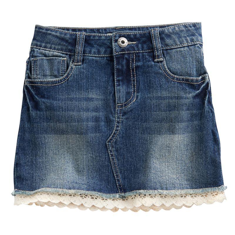 polyester spandex skirt kohl s