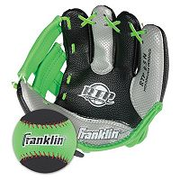 Franklin Air Tech Right Hand Throw Baseball Glove & Ball Set