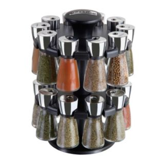 Cole and Mason 20-Jar Herb and Spice Rack Carousel