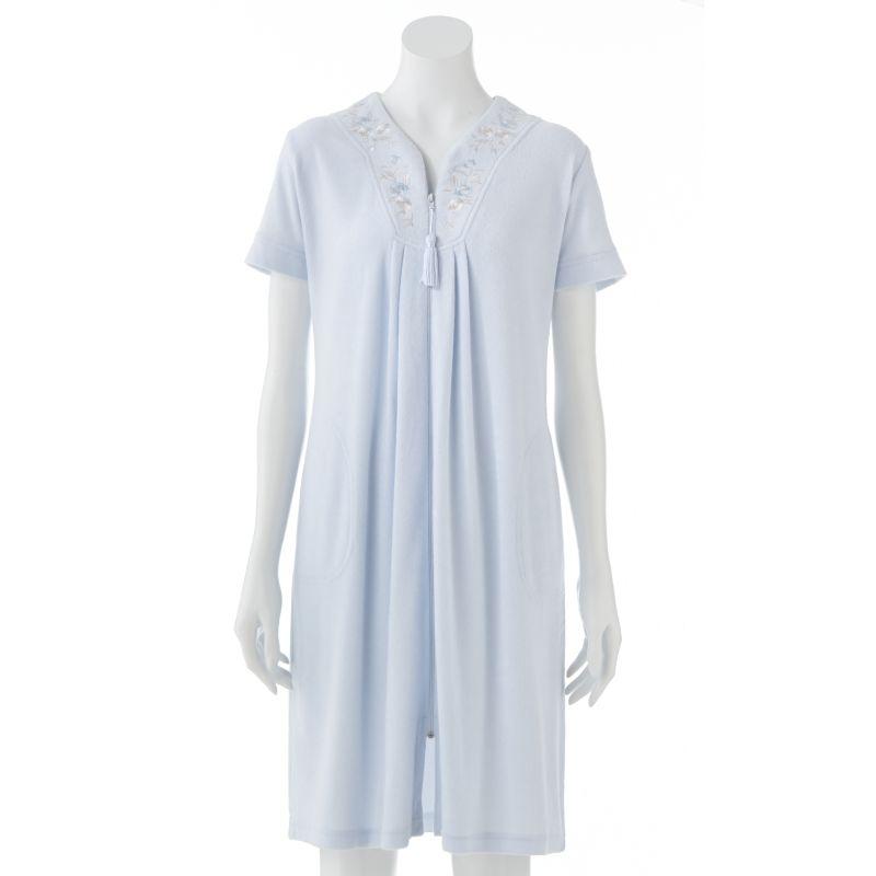 Miss Elaine Essentials Silkyknit Robe - Women's Plus