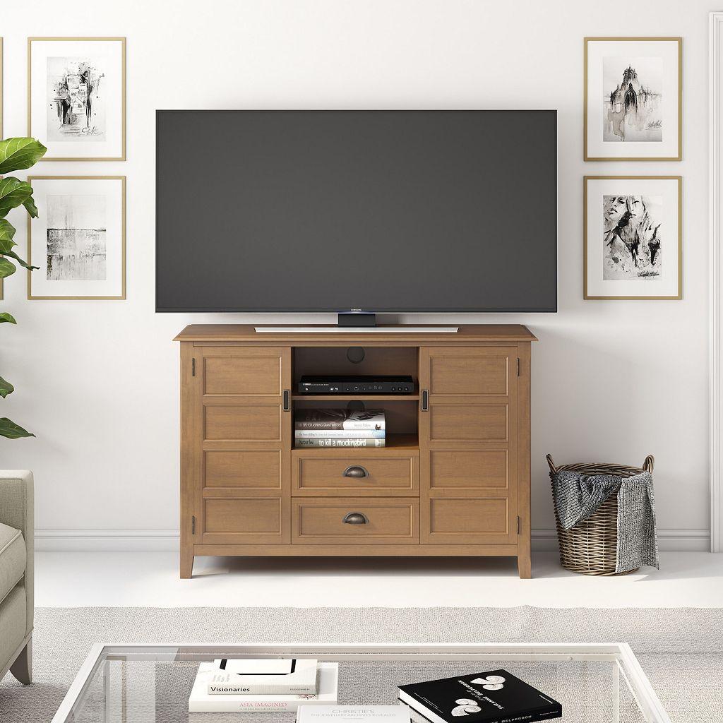 Simpli Home Burlington TV Stand