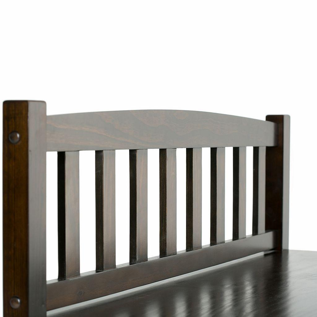 Simpli Home Burlington Entryway Storage Bench