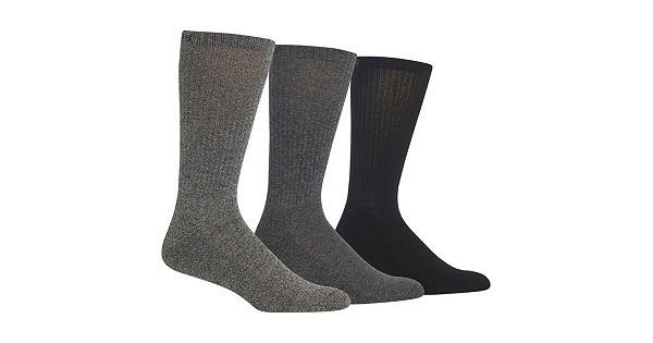 Men S Chaps 3 Pk Athletic Crew Socks