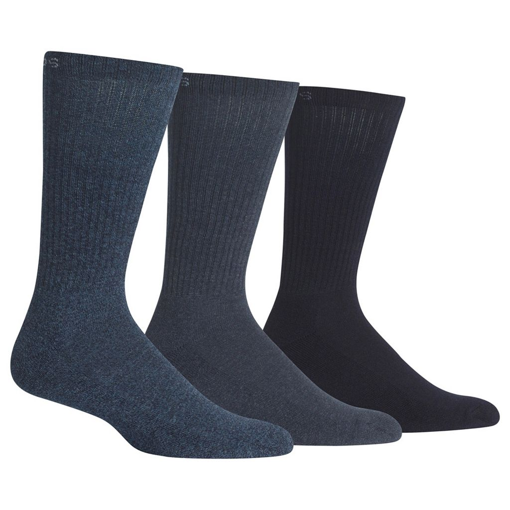Men's Chaps 3-pk. Athletic Crew Socks