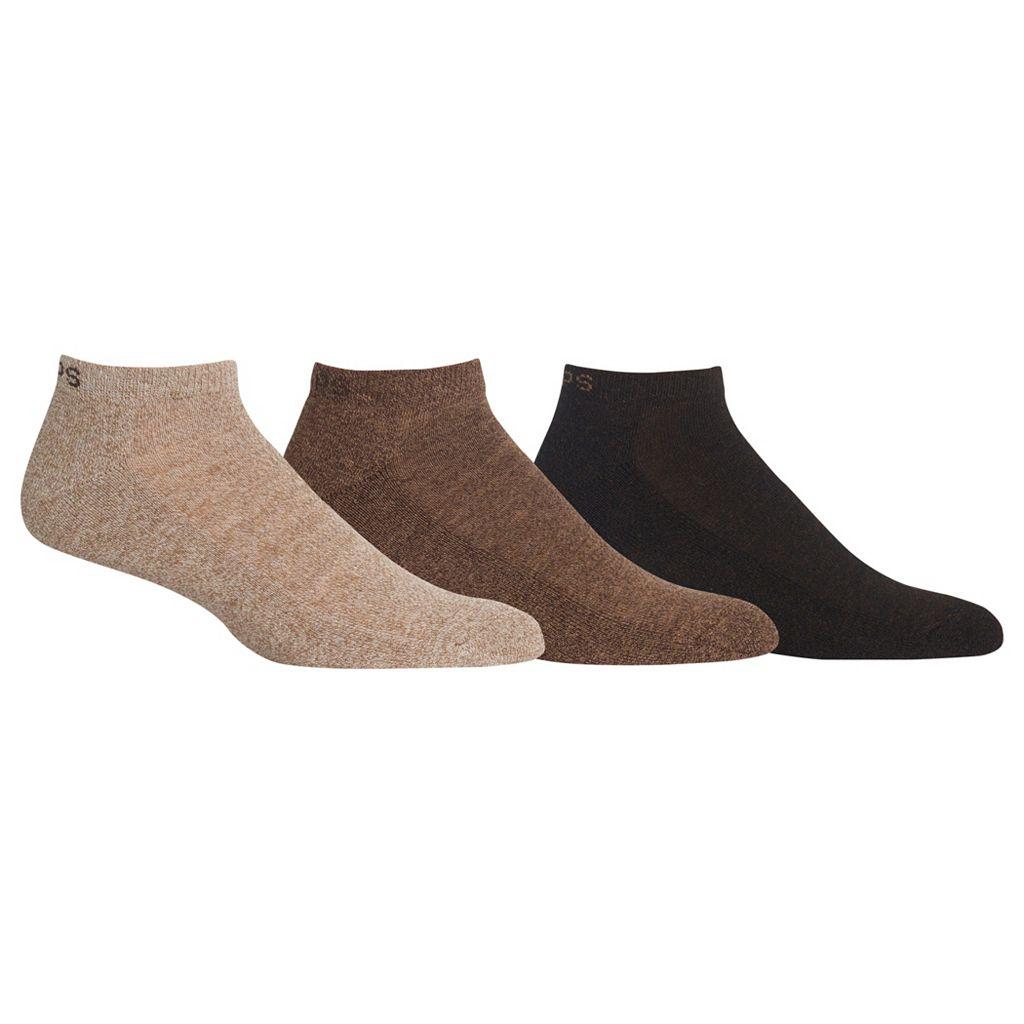 Men's Chaps 3-pk. Athletic Low-Cut Socks
