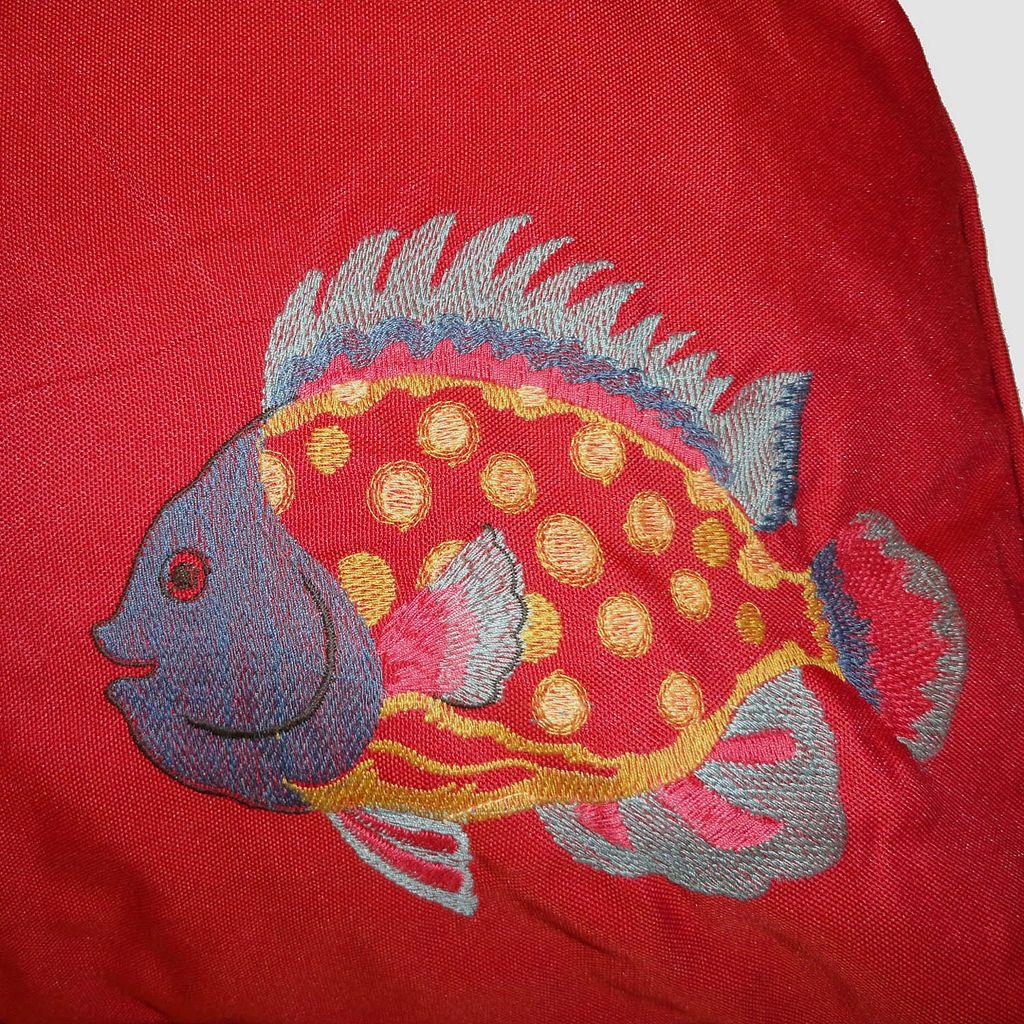HFI O'Fish Rectangle Pet Bed - 36'' x 27''