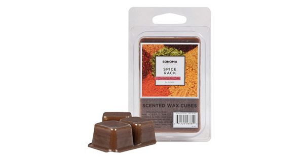 Sonoma Goods For Life 6 Pc Spice Rack Wax Melts