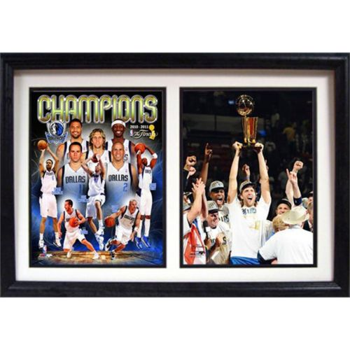 Dallas Mavericks Champions Double Custom Frame
