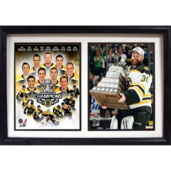 Boston Bruins Champions Double Custom Frame