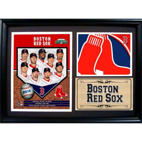 Boston Red Sox Photo Stat Frame