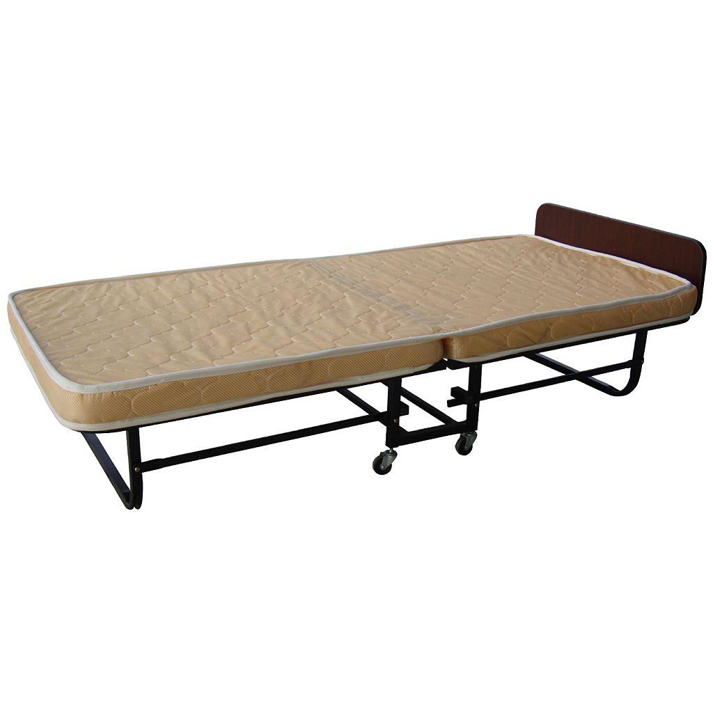Tan Folding Bed - Twin