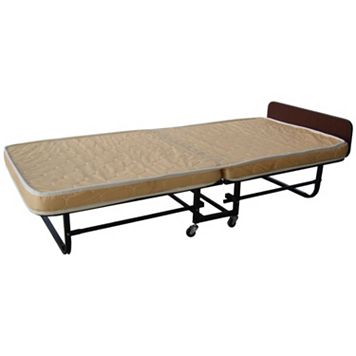 Tan Folding Bed - Twin