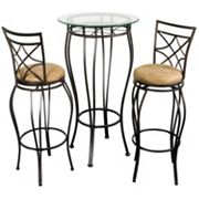 Bistro 3 pc Pub Table & Chair Set